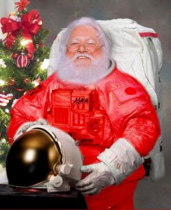 Source: http://www.freakingnews.com/Christmas-in-Space-Pictures---2247.asp