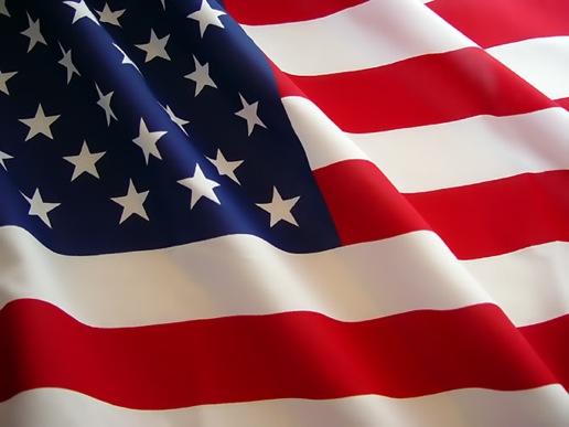 Patriotism in the US Flag