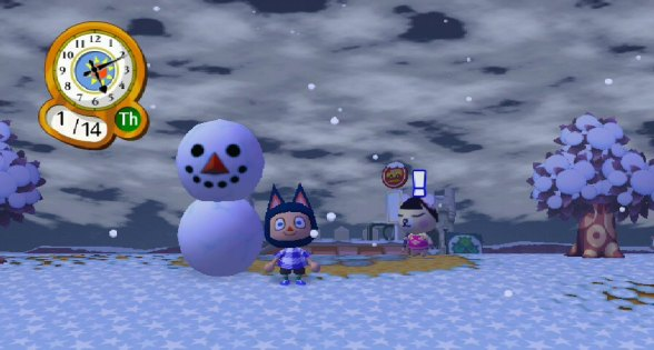 Building a snowman in Sparksty