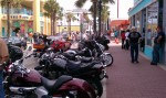 My bike on Main Street