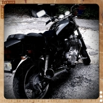 A retro pic of my bike