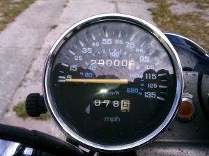 Rolling 20,000 miles on the Nighthawk!