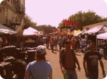 Street Scene at Leesburg Bikefest