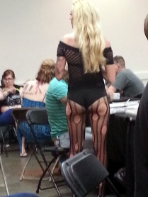 Just walking around the tattoo expo.