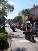 Rolling down Main street