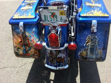 Can you name the rock group this bike is based on?