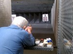 My 86-year-old grandfather owning it at the range