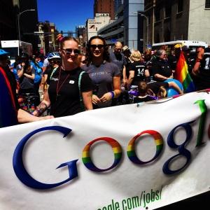Gay Googlers are called Gayglers
